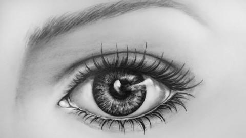 Jak narysować piękne oczy ?
