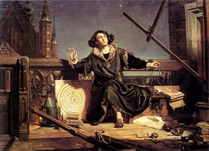 Astronom Kopernik czyli rozmowa z Bogiem - Jan Matejko