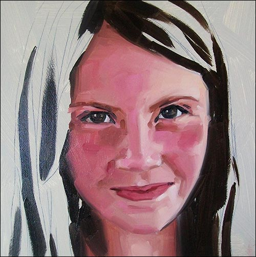Jak namalowac twarz 4