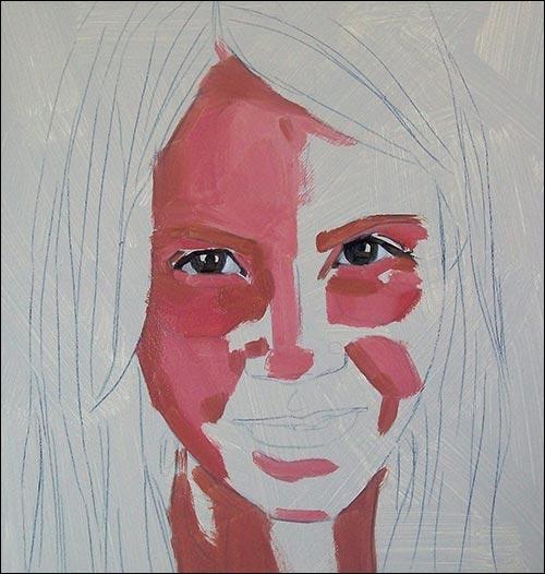 jak namalować twarz 1