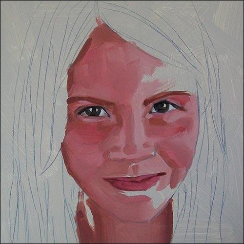 jak namalować twarz 2