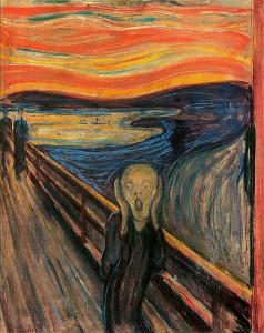 """""""Krzyk"""" Edvarda Muncha - idealna kopia obrazu w naszym wykonaniu."""