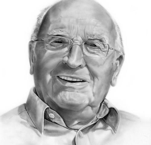 Portret-dziadek-rysunek
