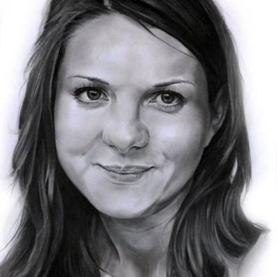 Portret-grafitowy
