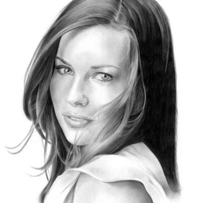 Portret-olowek