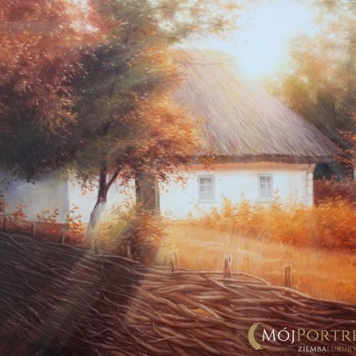 chata-jesien-pejzaz_90х70