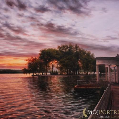 jezioro-obrazy-olejne