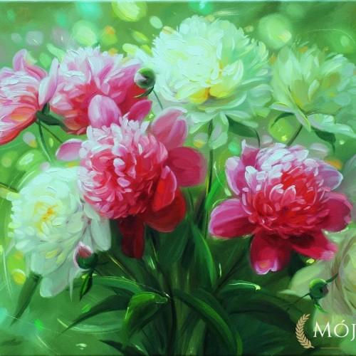 kwiaty-polne-biale-czerwone