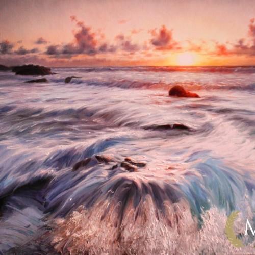 morze-obraz-olejny-tryptyk-60х150