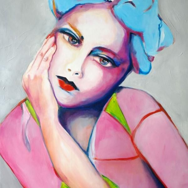 obraz-abstrakcyjny-postac-kobieta