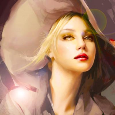 obraz-kobieta-kapelusz