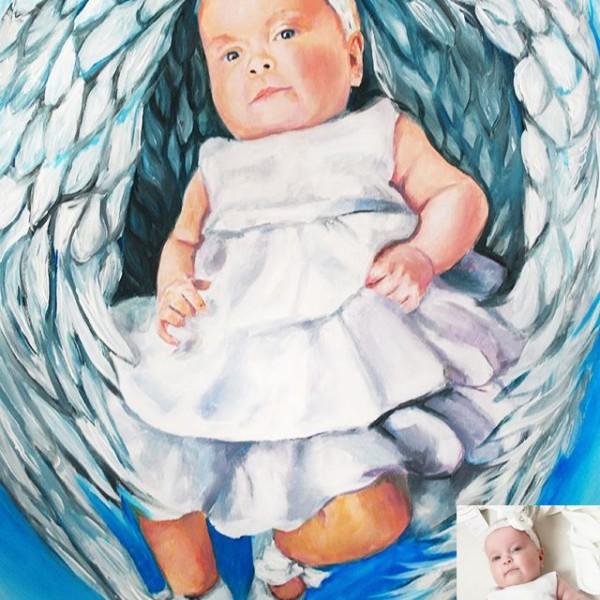 portret-dziecko-aniolek-akryl