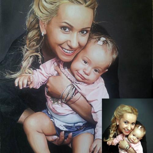 portret-mama-dziecko