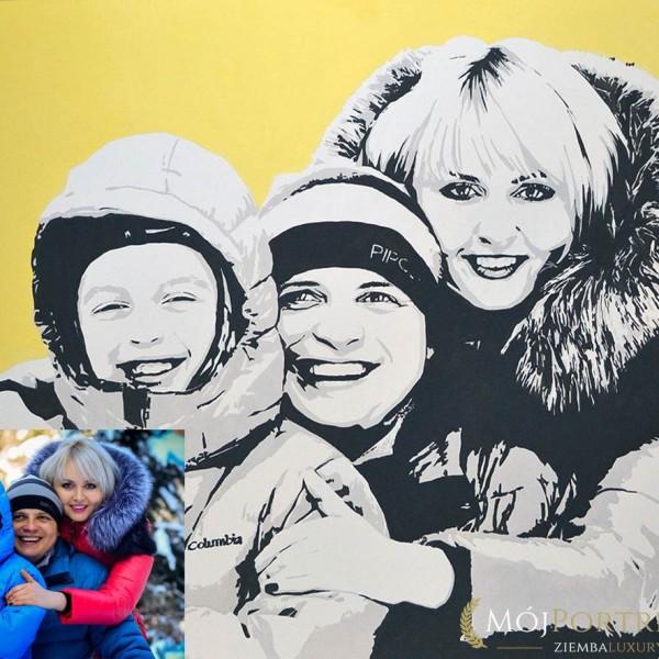 portret-rodzinny-pop-art