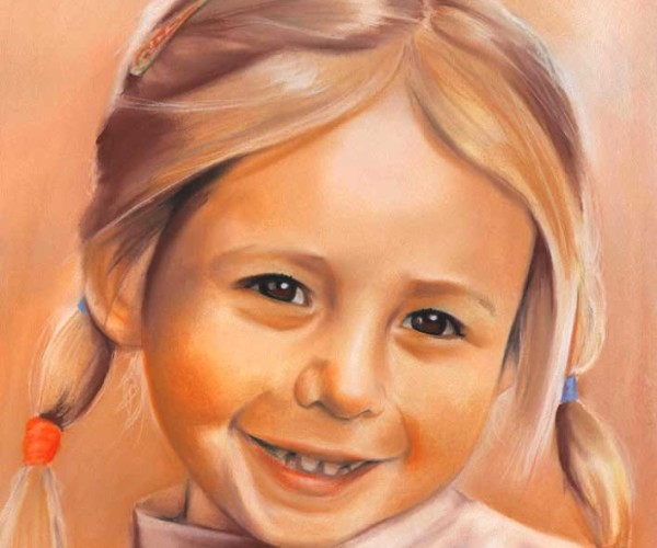 portrety pastelowe