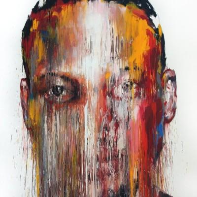 twarz-abstrakcja-obraz