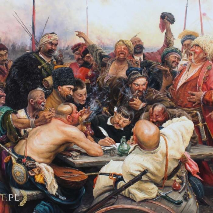 Repin Kozacy pisza list do sultana
